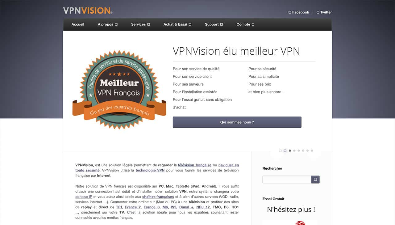 VPNVision Before
