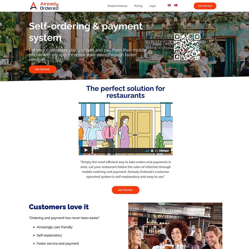 Already-Ordered-Website-before-design