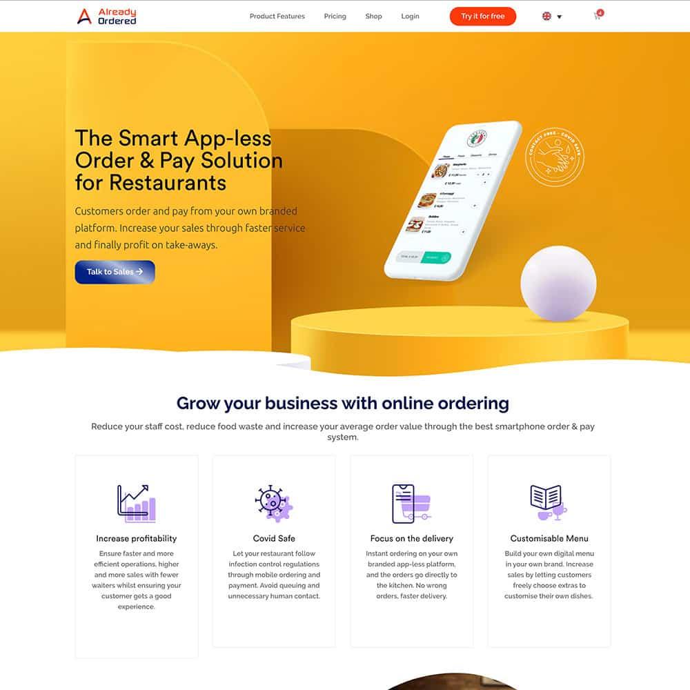 Already-Ordered-Website-design-after